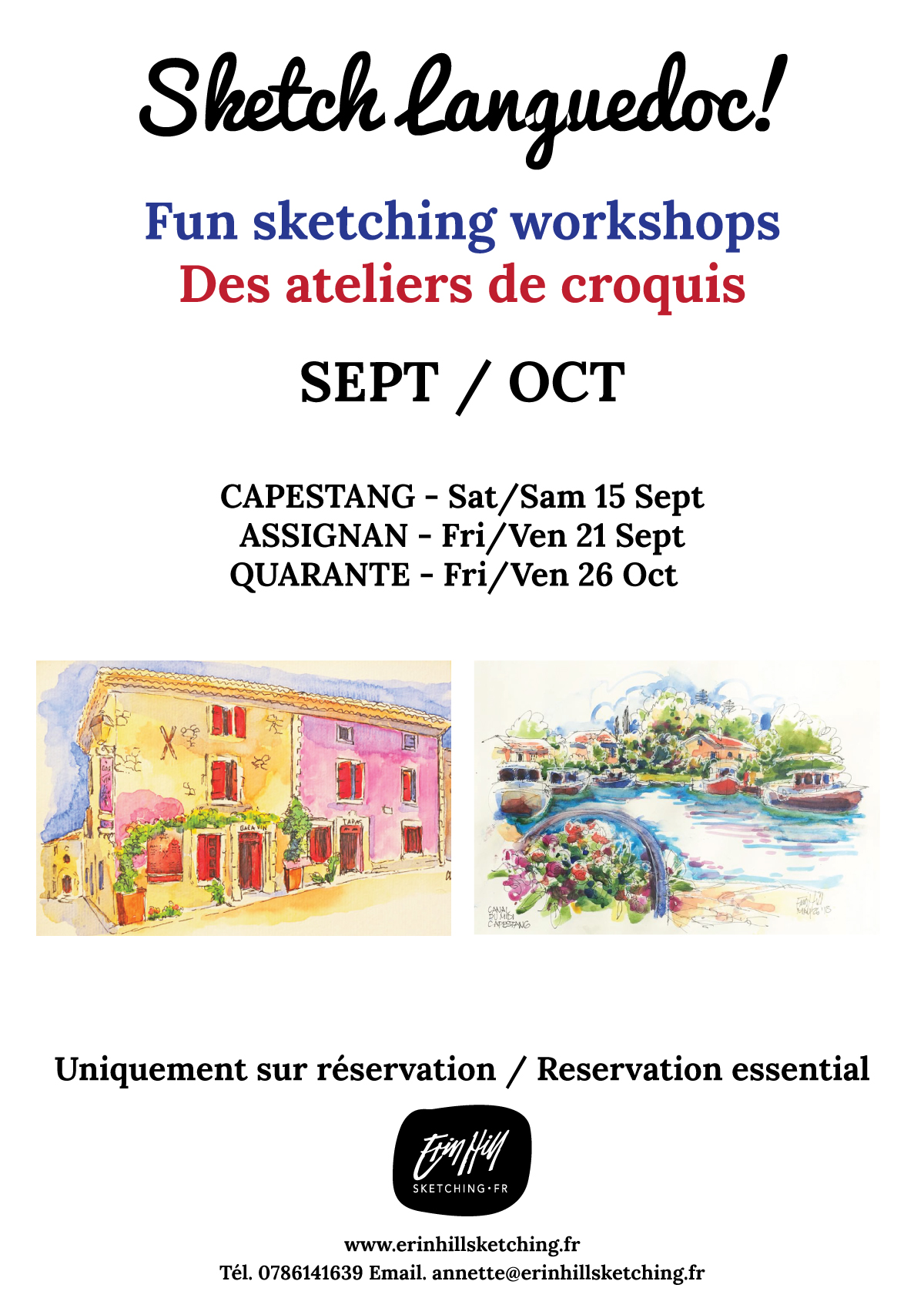 Affiche-Sept-Oct Sketch Languedoc